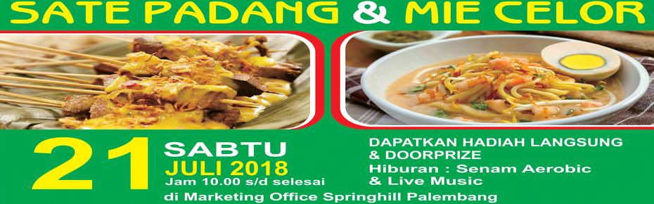 Pesta Sate Padang & Mie Celor