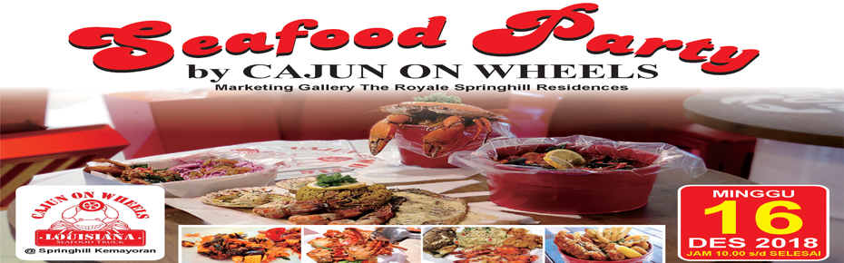 Pesta Seafood oleh Cajun on Wheels