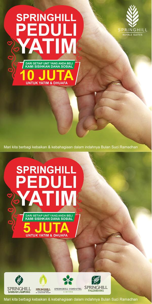 Springhill Peduli Yatim