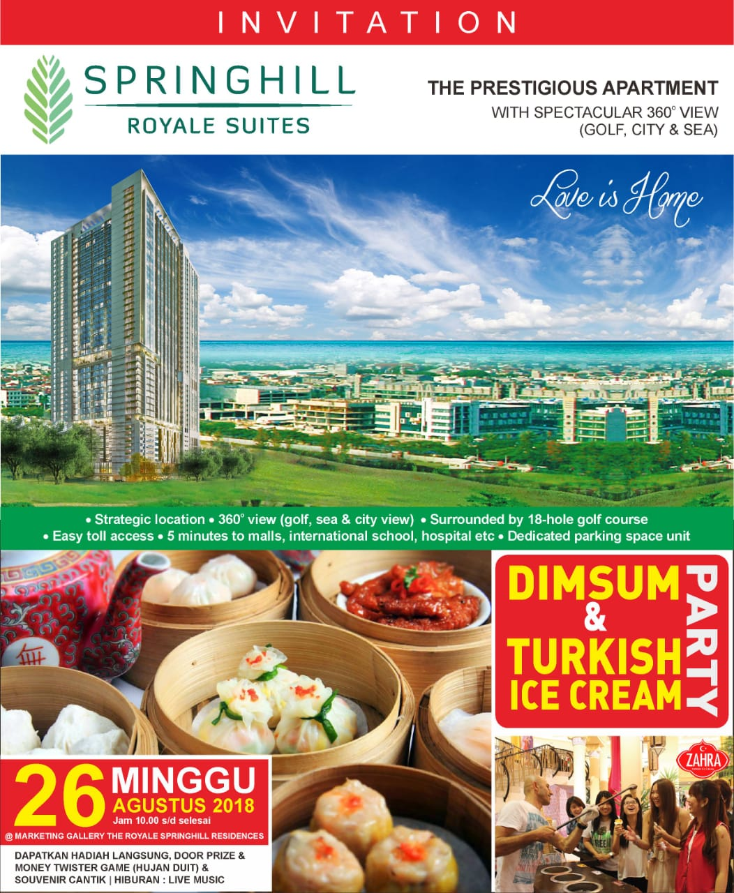 Pesta Dimsum & Es Krim Turki