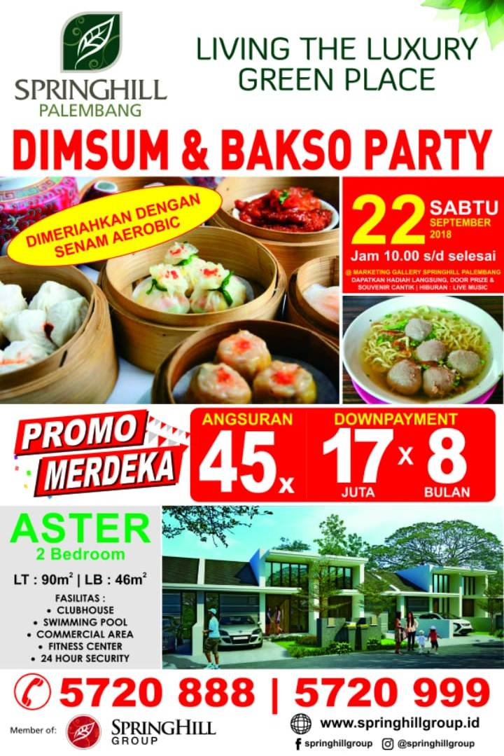Pesta Dimsum & Bakso September 2018