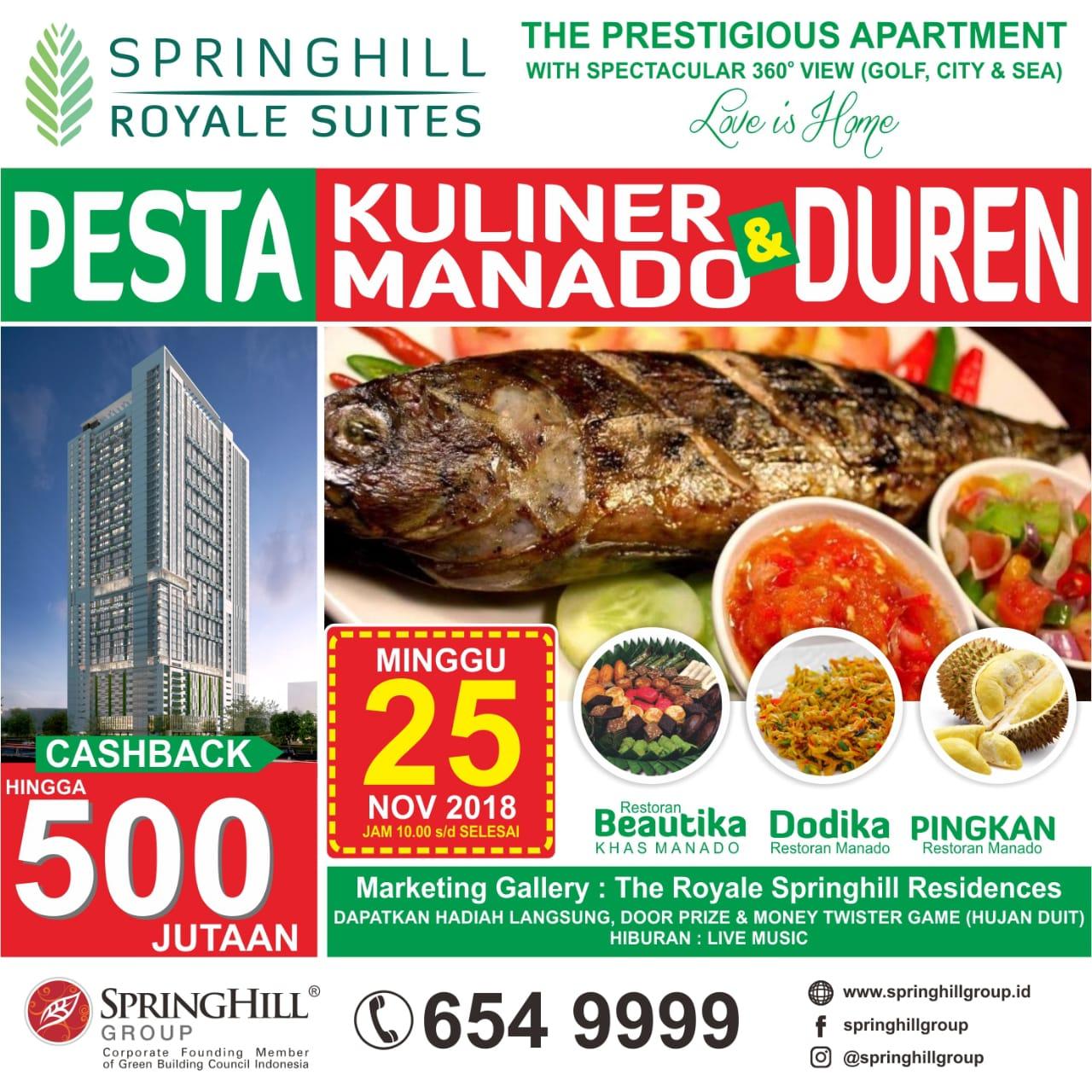 Pesta Kuliner Manado & Duren