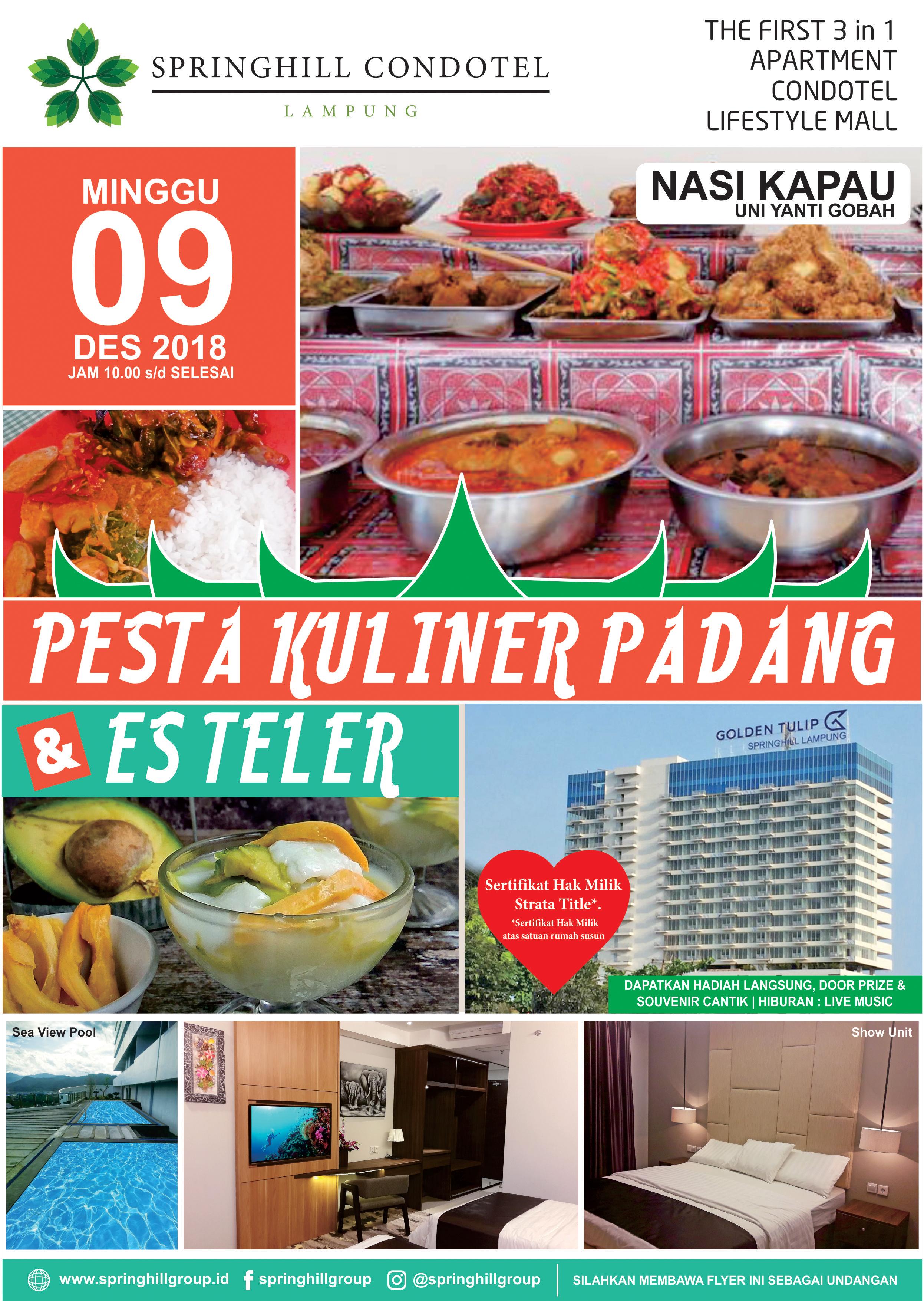 Pesta Kuliner Padang & Es Teler