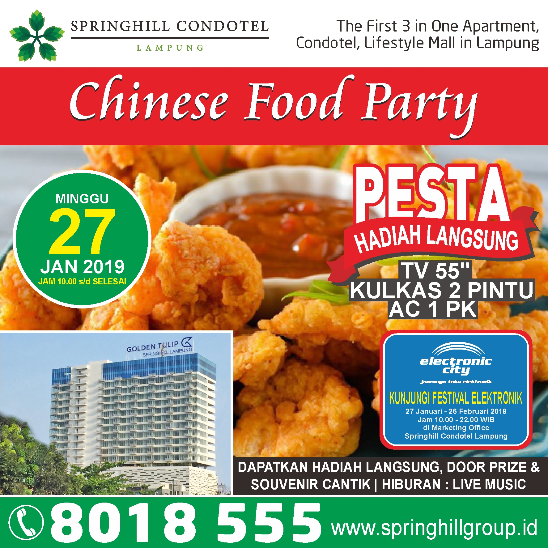 Pesta Kuliner Chinese Lampung