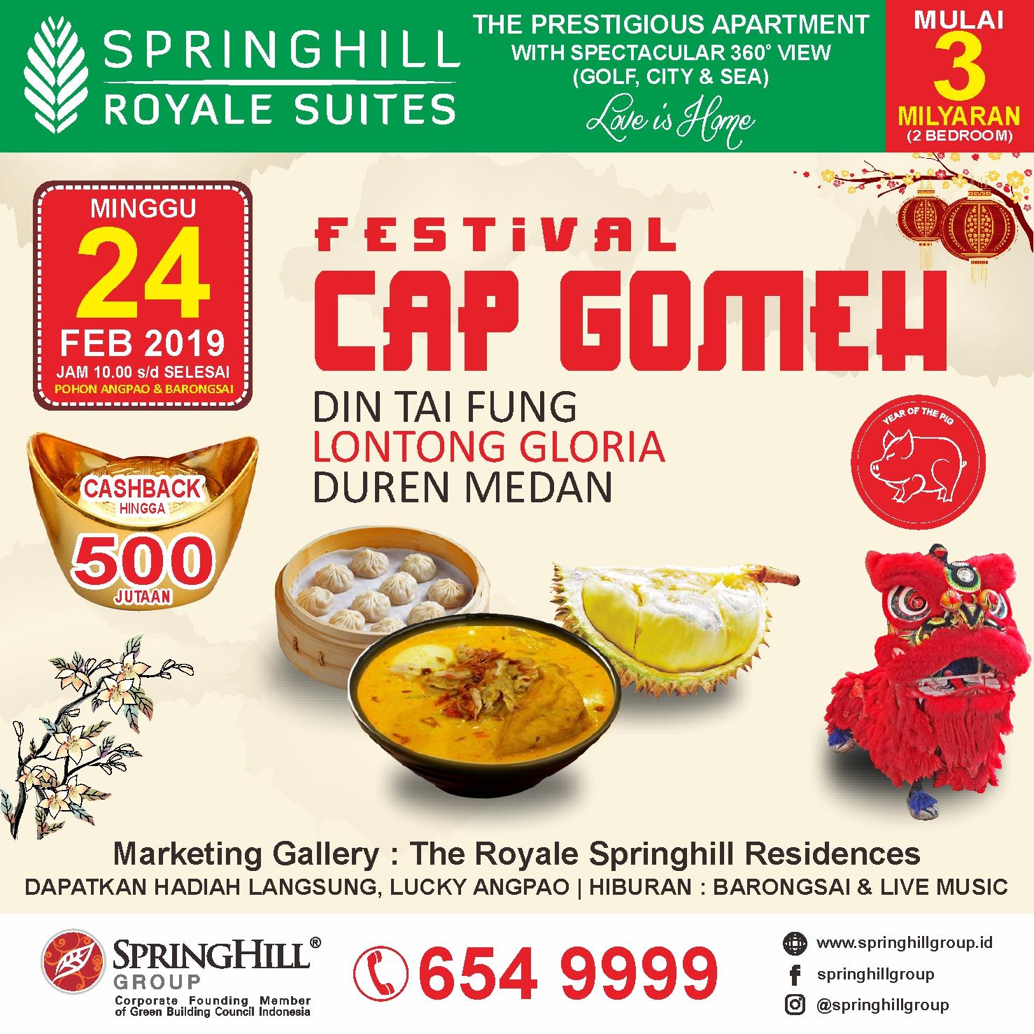 Festival Cap Gomeh 2019