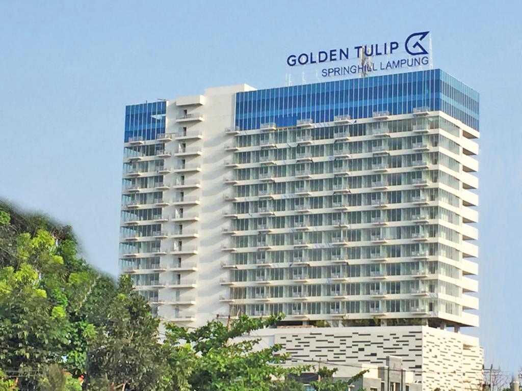 Trial Opening Golden Tulip Springhill Bandar Lampung